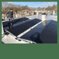 plaatsing van zonnepanelen verbouwen dierenarts tilburg